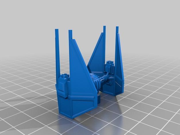迷你游戏拦截机 3D模型  图11
