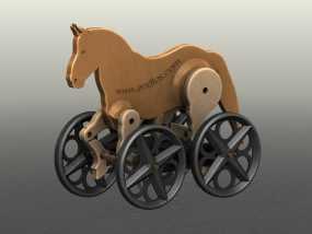 玩具马模型 3D模型