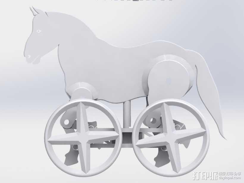 玩具马模型 3D模型  图6