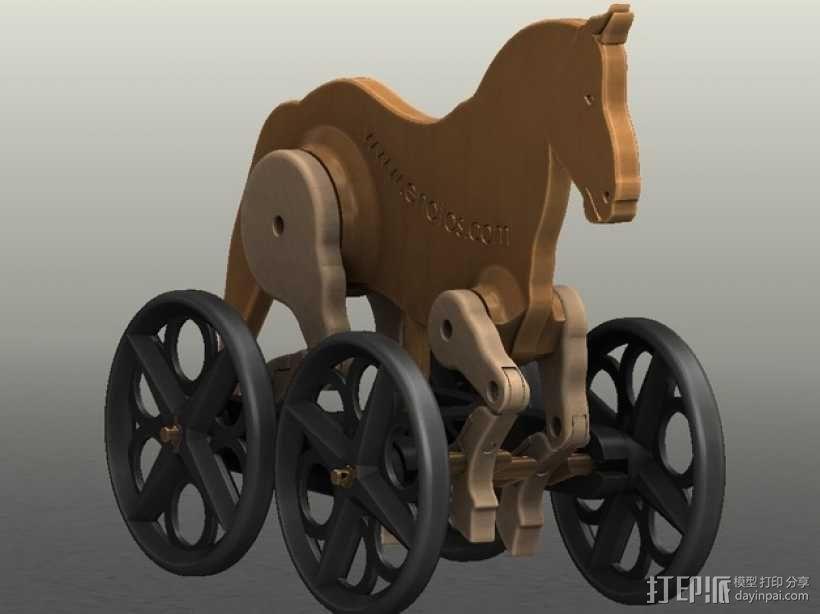 玩具马模型 3D模型  图3