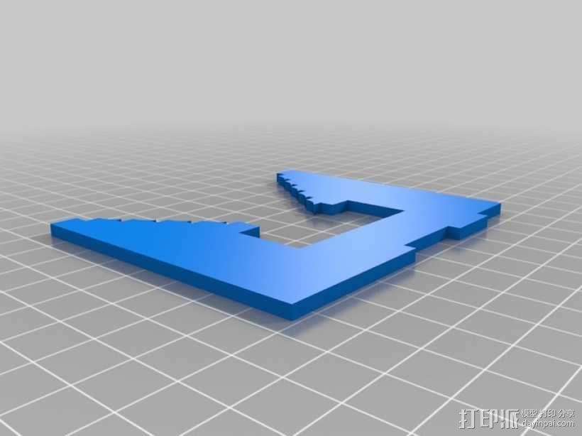 联动装置#1 3D模型  图3