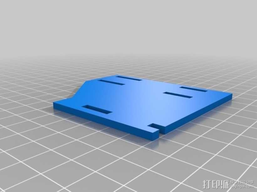 联动装置#1 3D模型  图4