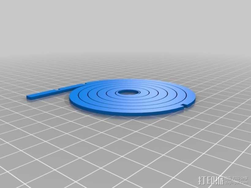 联动装置#1 3D模型  图6