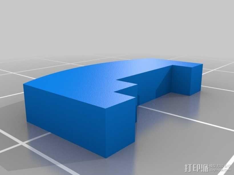 联动装置#1 3D模型  图7