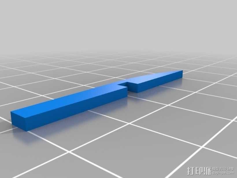 联动装置#1 3D模型  图9