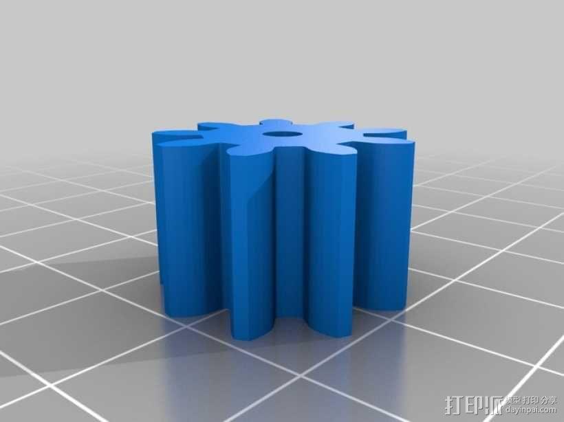联动装置#1 3D模型  图11