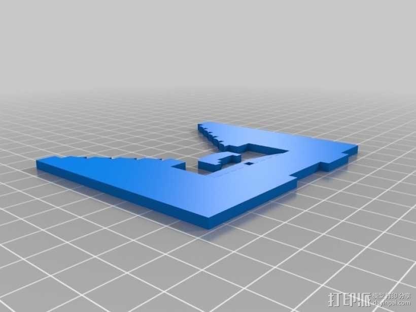 联动装置#1 3D模型  图12
