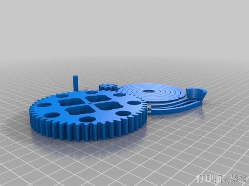 联动装置#1 3D模型  图14