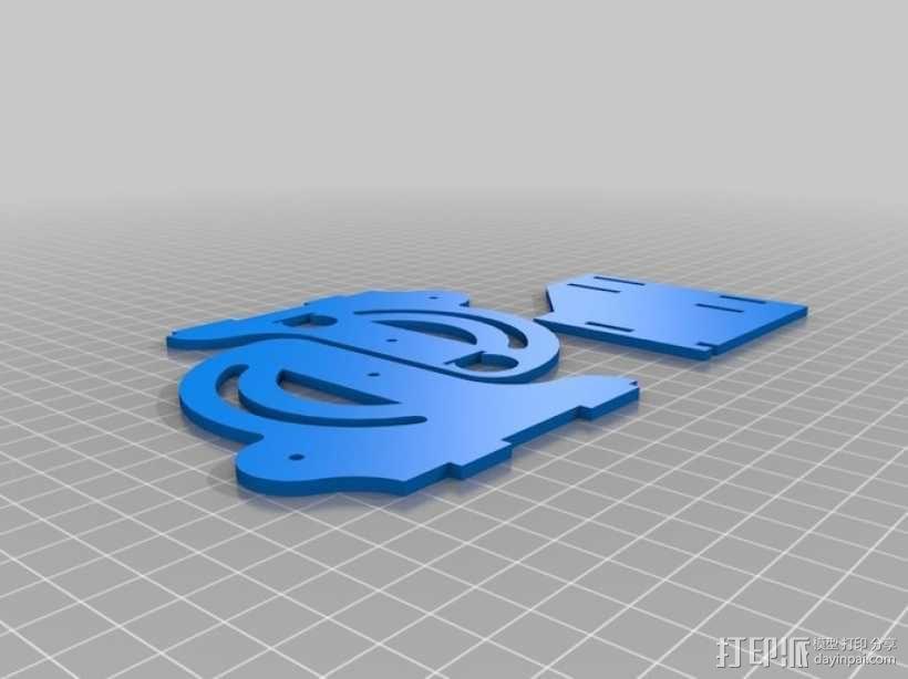 联动装置#1 3D模型  图17