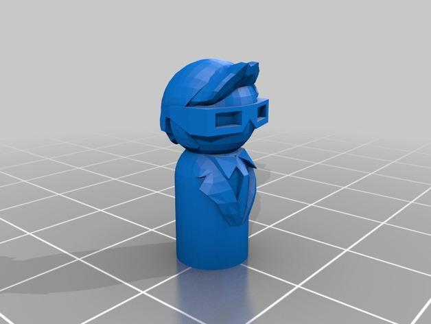 《Doctor Who》士兵模型 3D模型  图4