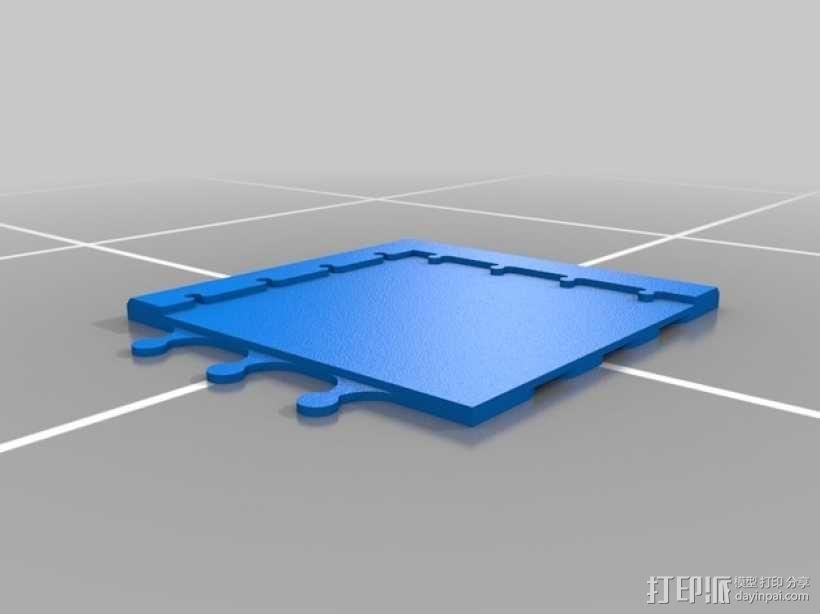 象棋棋盘 3D模型  图4