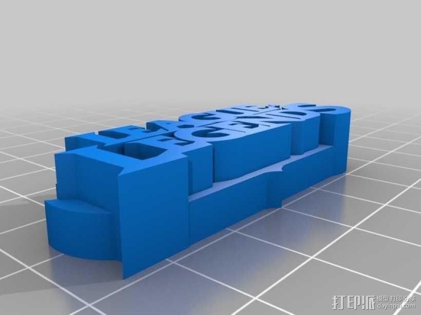 英雄联盟徽章 3D模型  图2