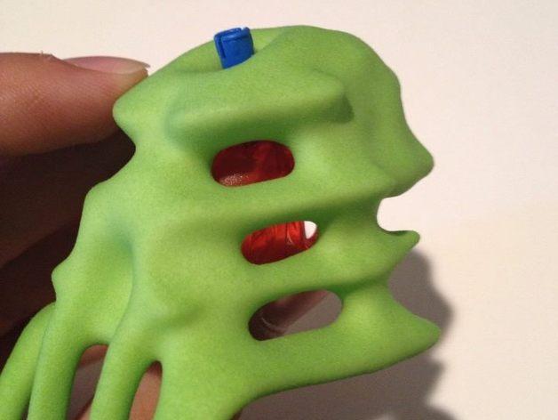 Omega面具 3D模型  图5