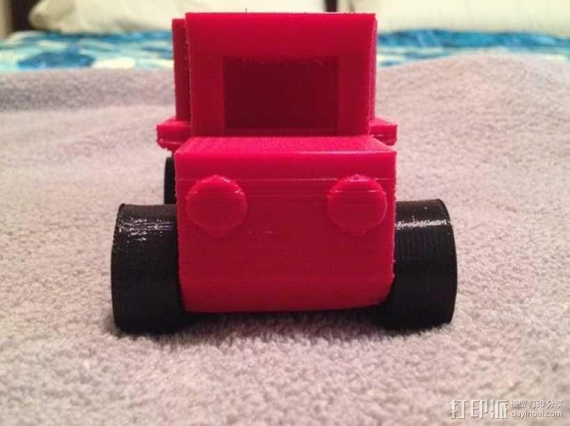 玩具测井工程车 3D模型  图2