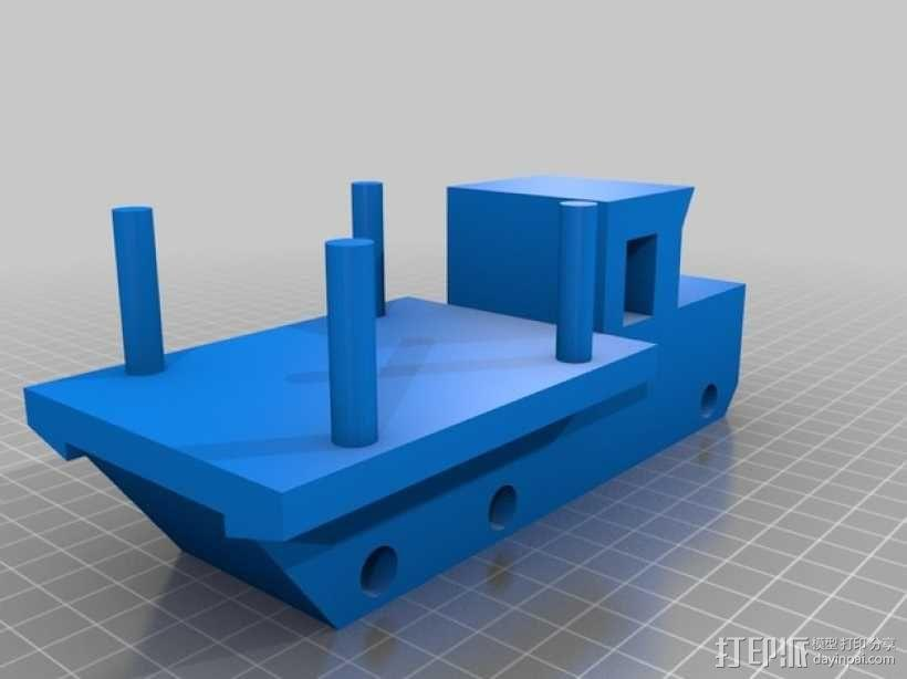 玩具测井工程车 3D模型  图4