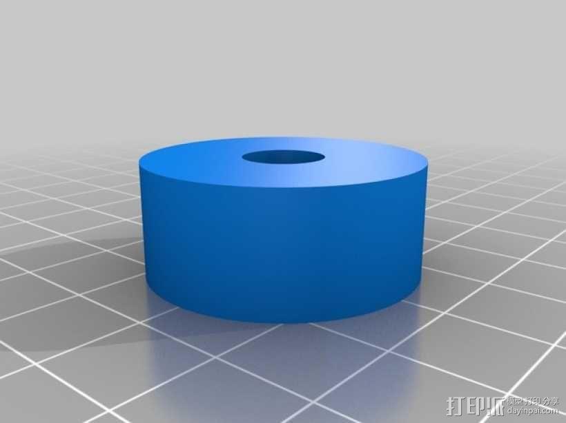 玩具测井工程车 3D模型  图3