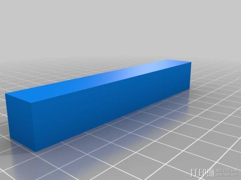 玩具测井工程车 3D模型  图5