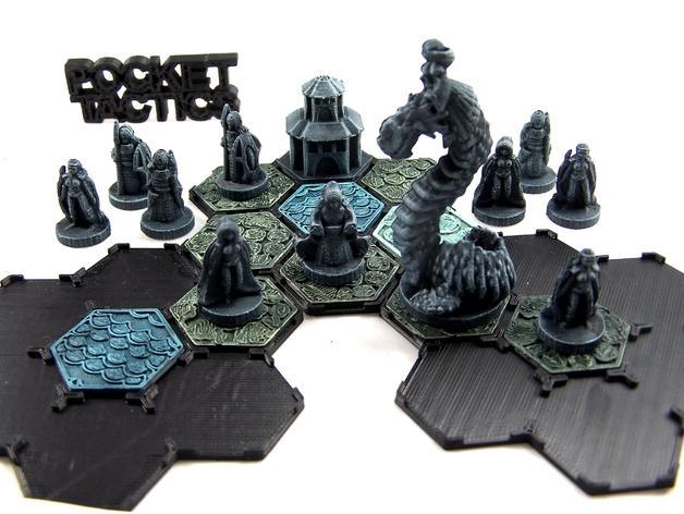 Pocket-Tactics:精灵的光辉 3D模型  图1