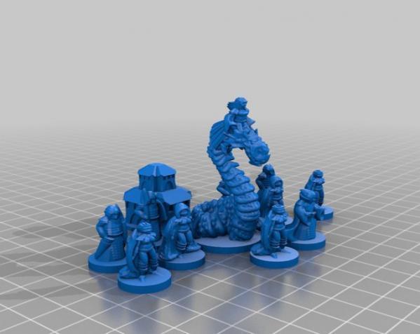 Pocket-Tactics:精灵的光辉 3D模型  图13