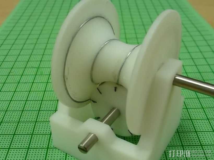磁蜗轮模型 3D模型  图2