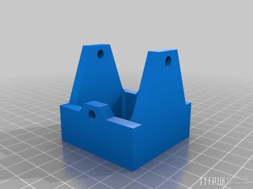 磁蜗轮模型 3D模型  图3