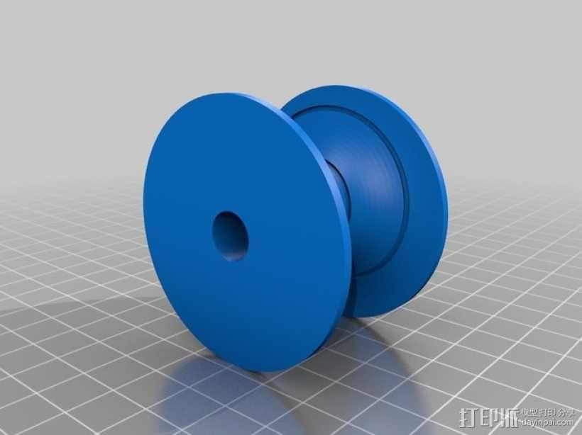 磁蜗轮模型 3D模型  图4