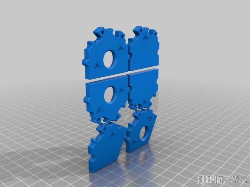 六边形桌游基地 3D模型  图7