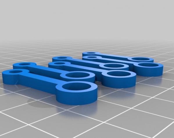 窄角V字形引擎 3D模型  图2