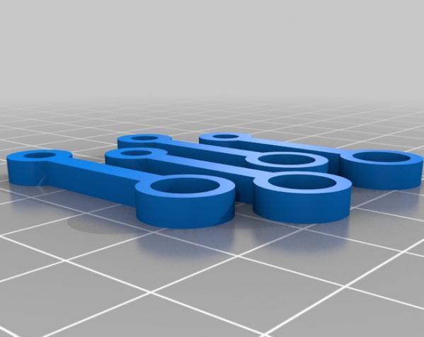 窄角V字形引擎 3D模型  图4