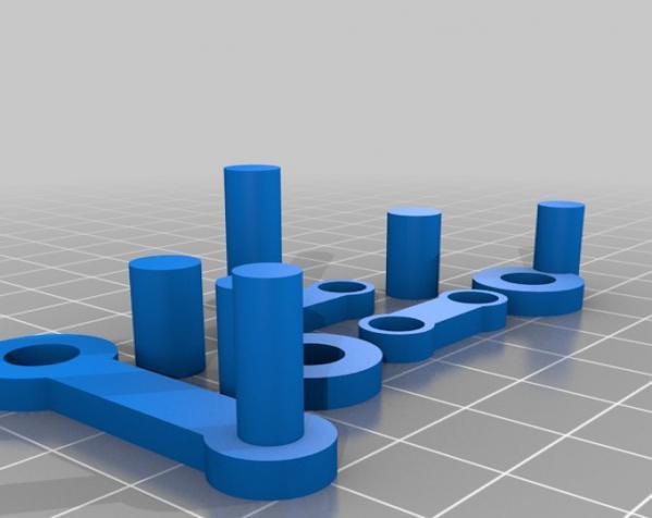 窄角V字形引擎 3D模型  图3