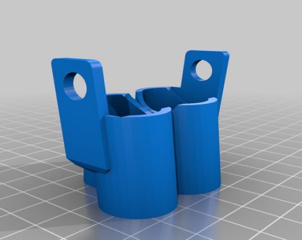 窄角V字形引擎 3D模型  图5