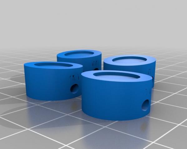 窄角V字形引擎 3D模型  图7