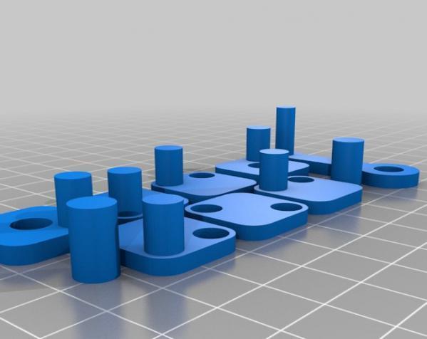 窄角V字形引擎 3D模型  图6