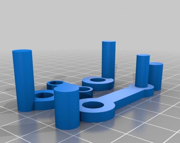 窄角V字形引擎 3D模型  图8
