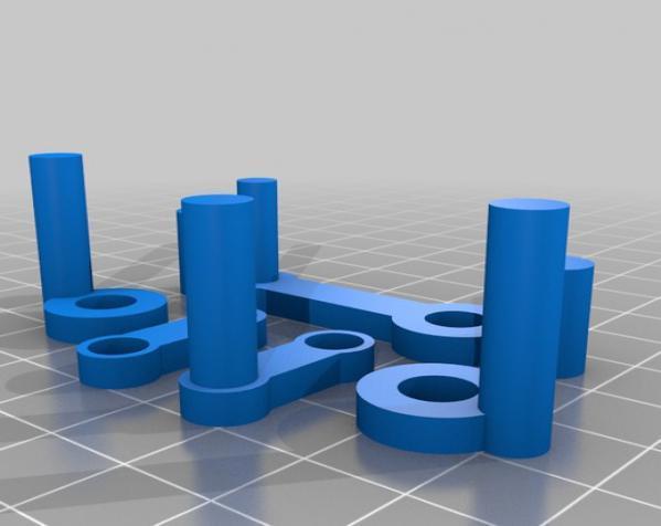 窄角V字形引擎 3D模型  图11