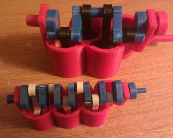 窄角V字形引擎 3D模型  图14