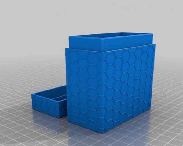 双色Netrunner收纳箱 3D模型  图4