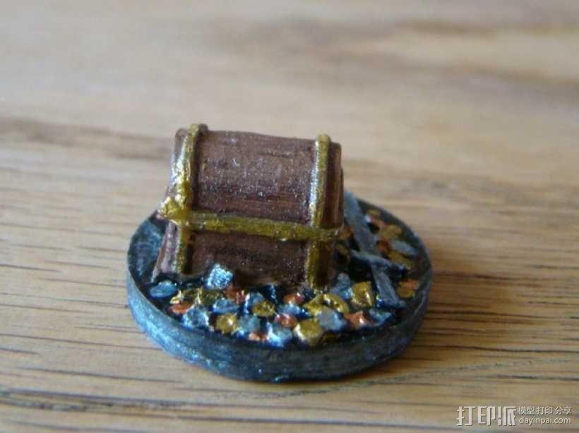 25毫米的迷你财宝箱V2 3D模型  图5