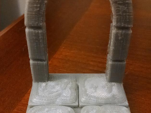 石头地牢:拱形门 3D模型  图3