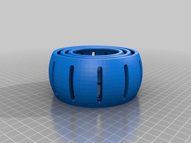 Bukito平衡环V1 3D模型  图2