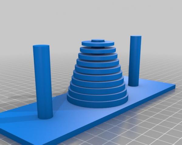 汉诺塔模型 3D模型  图12