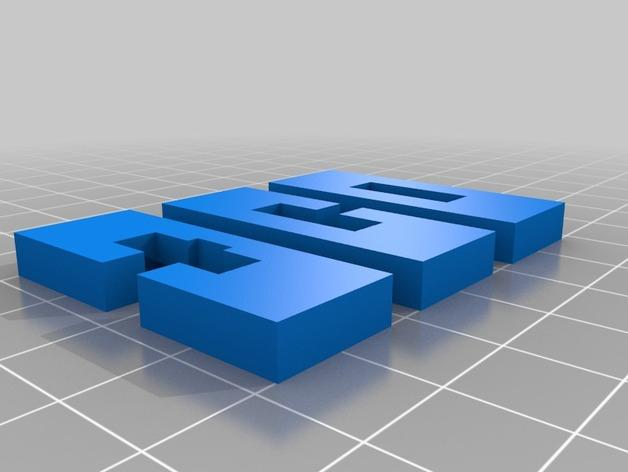 XYZ联锁平面拼图 3D模型  图10