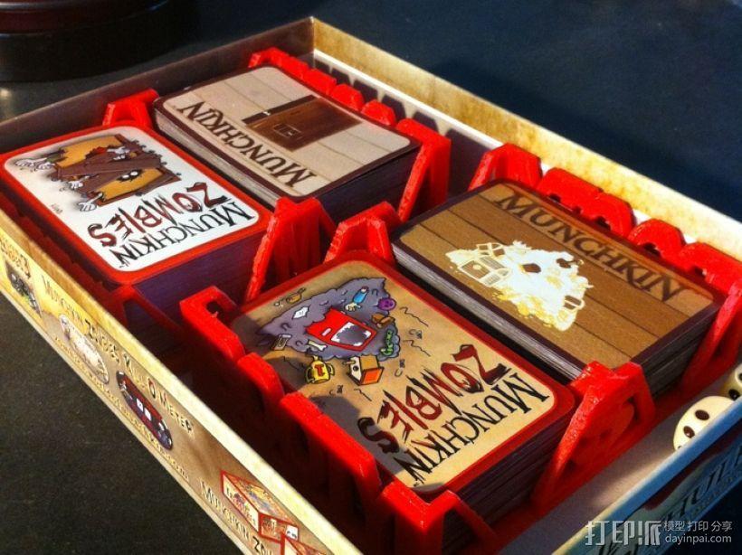 Munchkin卡片收纳盒 3D模型  图3