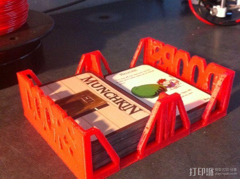 Munchkin卡片收纳盒 3D模型  图2
