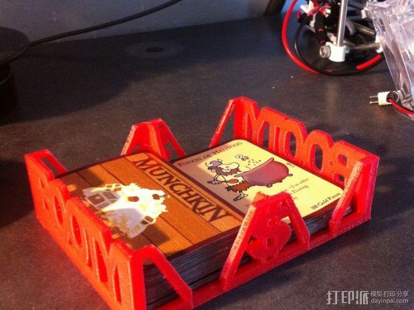 Munchkin卡片收纳盒 3D模型  图1