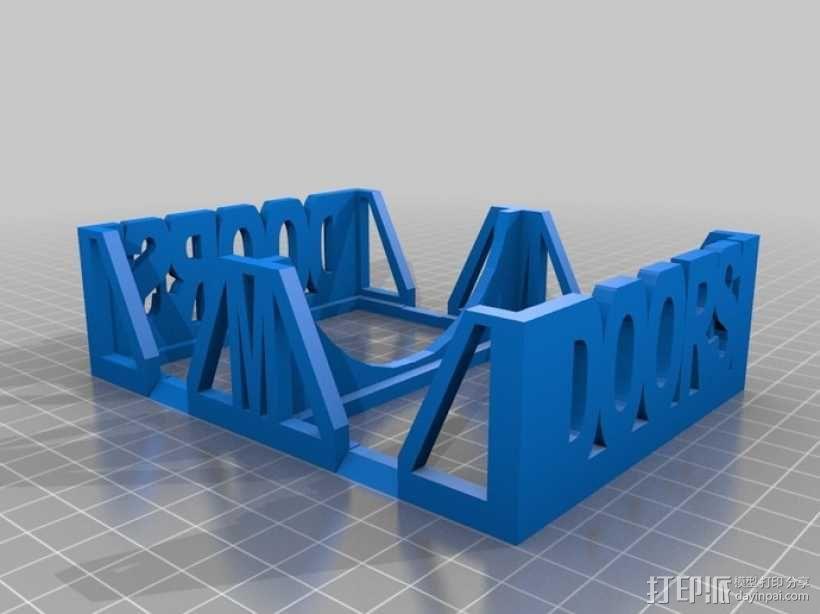 Munchkin卡片收纳盒 3D模型  图4