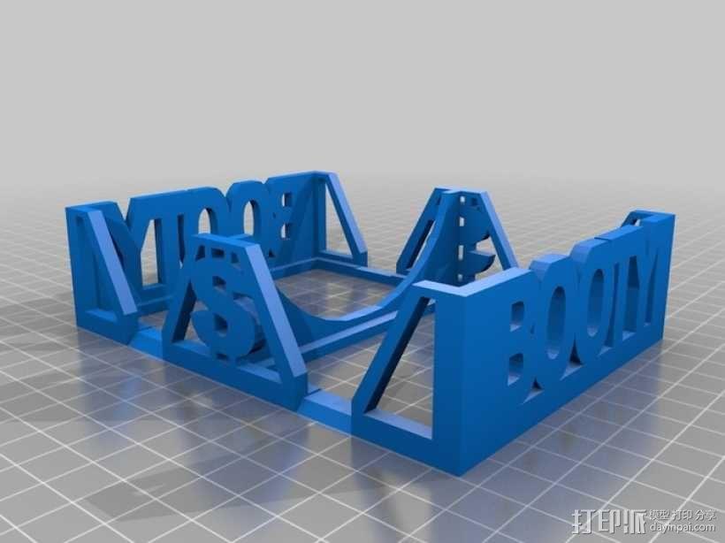 Munchkin卡片收纳盒 3D模型  图5