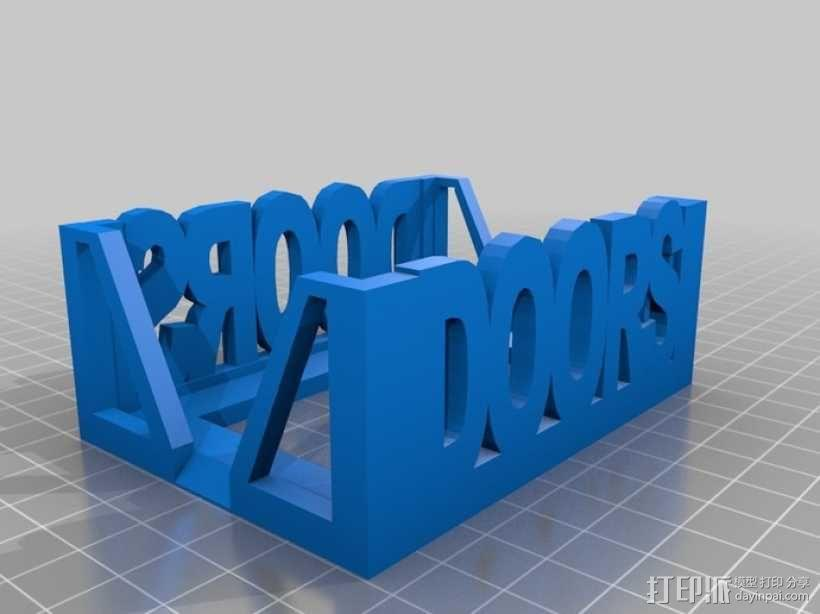 Munchkin卡片收纳盒 3D模型  图6