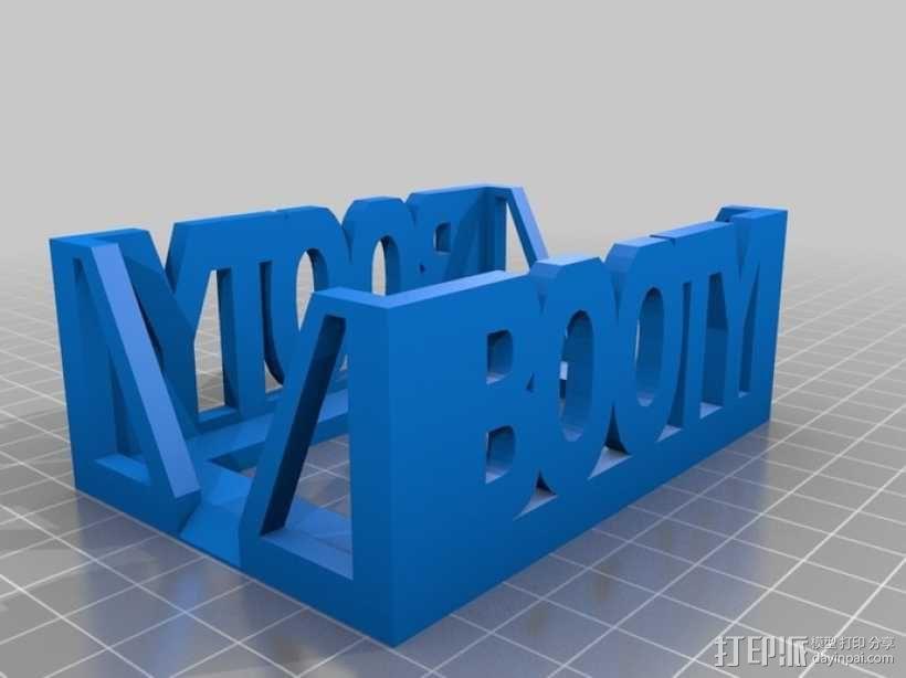 Munchkin卡片收纳盒 3D模型  图8