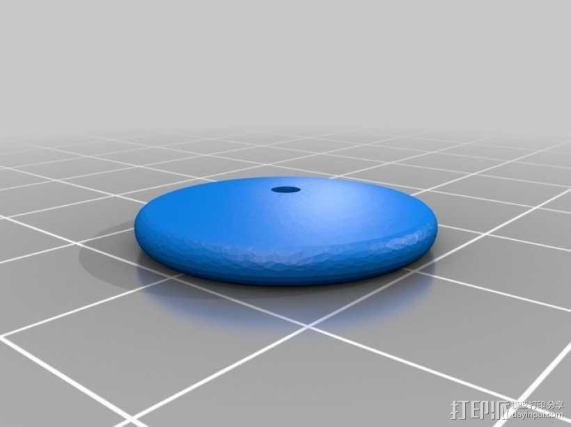 方块拼成的玩具火车 3D模型  图4